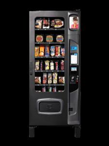 Alpine Combi 3000 frozen food vending machine with iCart touch screen option.